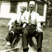 Father's Day - June 1954 - John Richard and Fred Walls