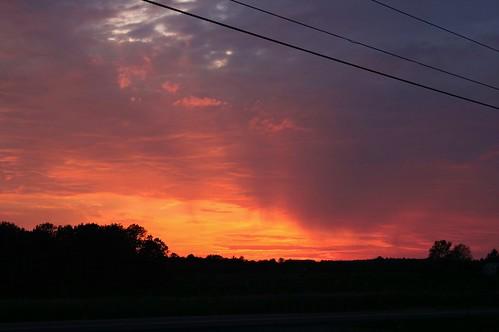 Sunset in the Fingerlakes