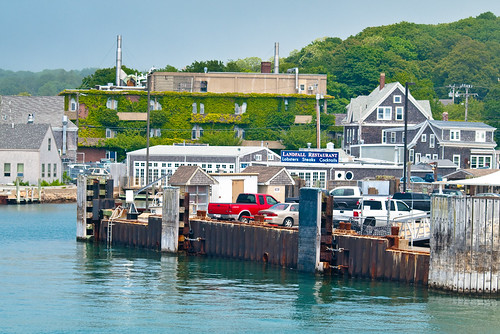 Woods Hole dock