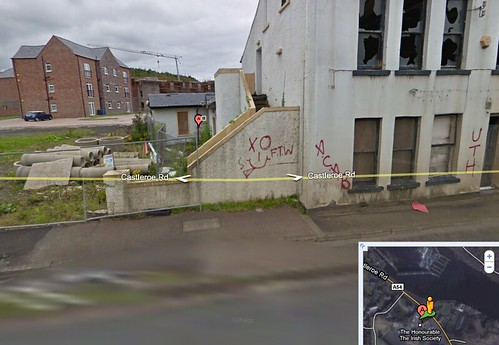 Google graffiti street views