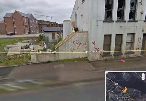 Google graffiti street views