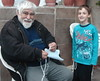 Grandfather Leftheris (Sibad) Tags: grandfather greece grandson corfu anokorakiana democracystreet leftheris λευτέρησπαππούσ