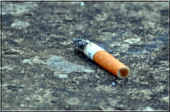 Marlboro (davep90) Tags: trash nikon cigarette burning marlboro d90 70300vr davep90