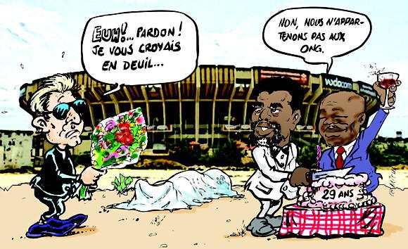 Deuil et fête : Double ambiance dans la capitale congolaise