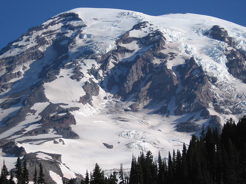 Mt. Rainier southwest face