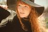 Caitlin Randolph (laurenlemon) Tags: ca hat sunshine caitlin wind may redhead redhair westhollywood 2010 canoneos5dmarkii laurenrandolph caitlinrandolph laurenlemon
