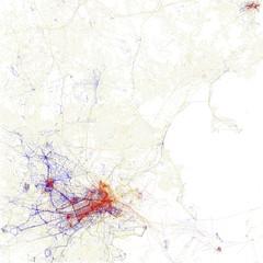 cambridge boston ma map massachusetts somerville data visualization brookline plot geotags comparative geodata cityform