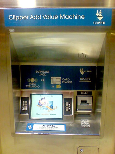 Clipper Add Value Machine