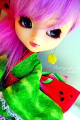 Ayumi ~ Watermelon<3 (Fr33ki) Tags: cute doll watermelon kawaii kimono pullip ayumi papin