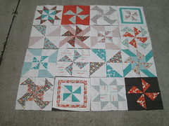 pinwheel sampler blocks