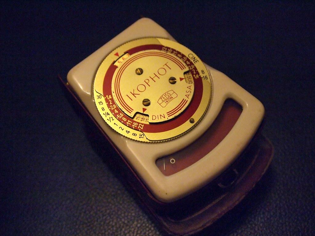古董相機 antique camera 測光表