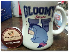 Eeyore kind of day coffee