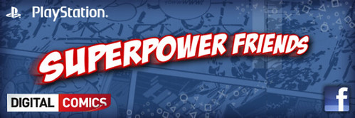 Superpower Friends - Digital Comics