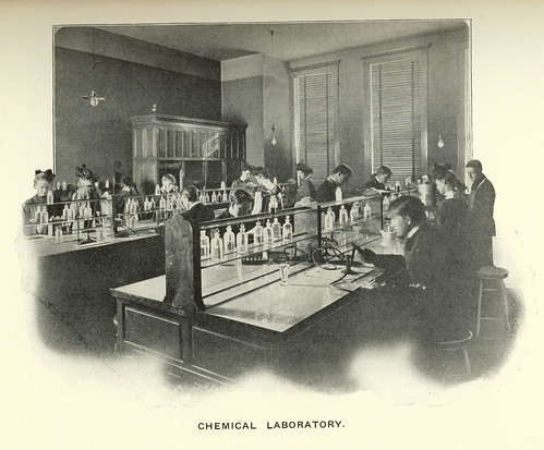 Chemical Laboratory, Butte, Montana. (19 by Butte-Silver Bow Public Library, on Flickr