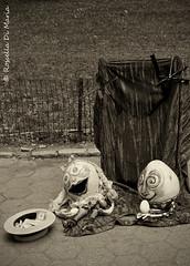 Solitude#3 (Rossella Di Maria ©) Tags: newyorkcity usa newyork solitude unitedstates centralpark puppets eggs humpy marionette thebigapple dumpy nikond90 rosselladimaria