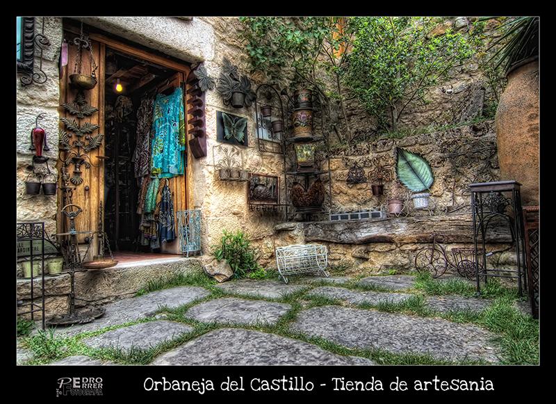 Orbaneja del Castillo -  Tienda de artesanía