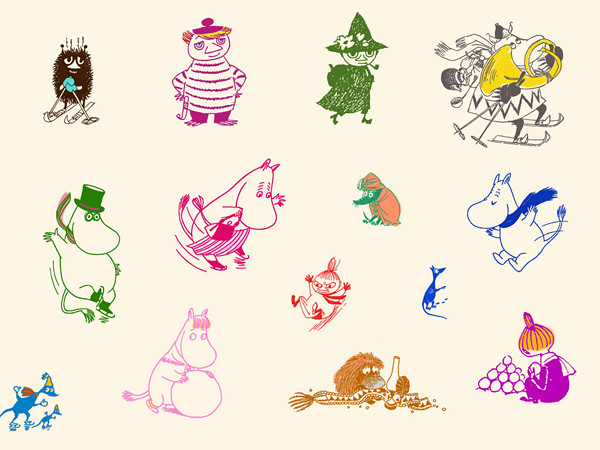 moomins & friends