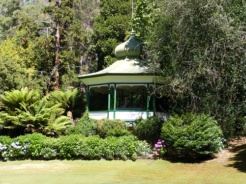 Gazebo In Cataract Gorge