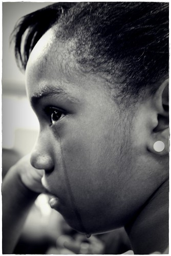 #99 a child crying