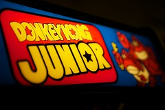 Donkey Kong Junior (little fern photography) Tags: show seattle fire jump nw shoot northwest buttons nintendo arcade mario hobby joystick retro videogames 80s button pacificnorthwest videogame hobbies donkeykong highscore gameroom pacificnw arcadegame donkeykongjunior arcardes nwpinballandgameroomshow