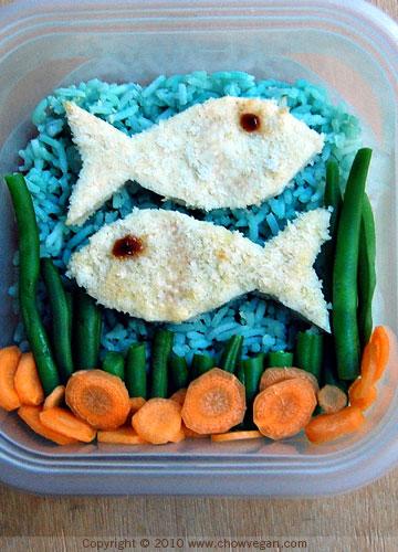Sea Blue Bento Box