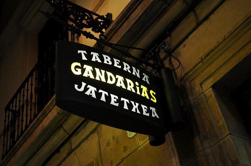 Gandarias Taberna - San Sebastian
