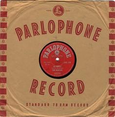 1964 - Beatles, The - No Reply - India - 78 RPM (Affendaddy) Tags: 1964 thebeatles 78rpm vinylsingles collectionklaushiltscher schellackplatten 78srpmrecords