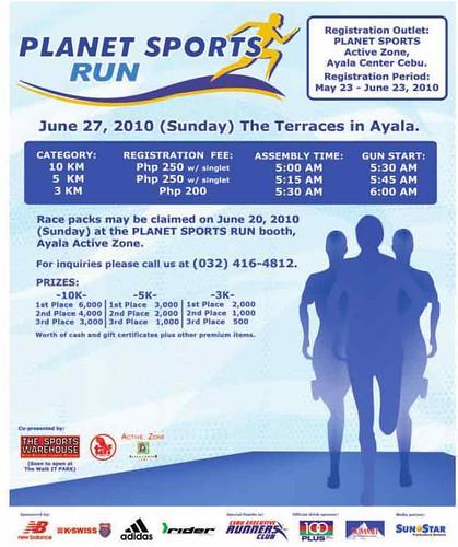 Planet Sports Run 2010