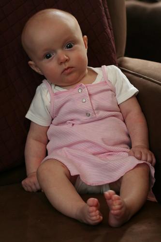 Three-Month Chair Portrait -- Tilting