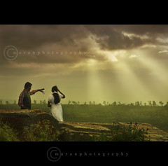 u and i. . . ( explored) (maran d learner) Tags: sky ui couples rays banglore cwc melukote 49thwalk
