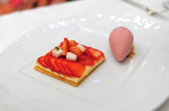 7th Course: Strawberry Tartelette