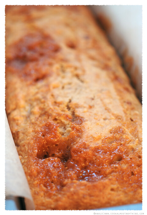 Caramel Hazelnut Banana Bread With Sweet Icing Recipe — Dishmaps