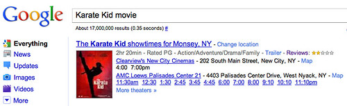 Karate Kid Google Reviews Wrong?