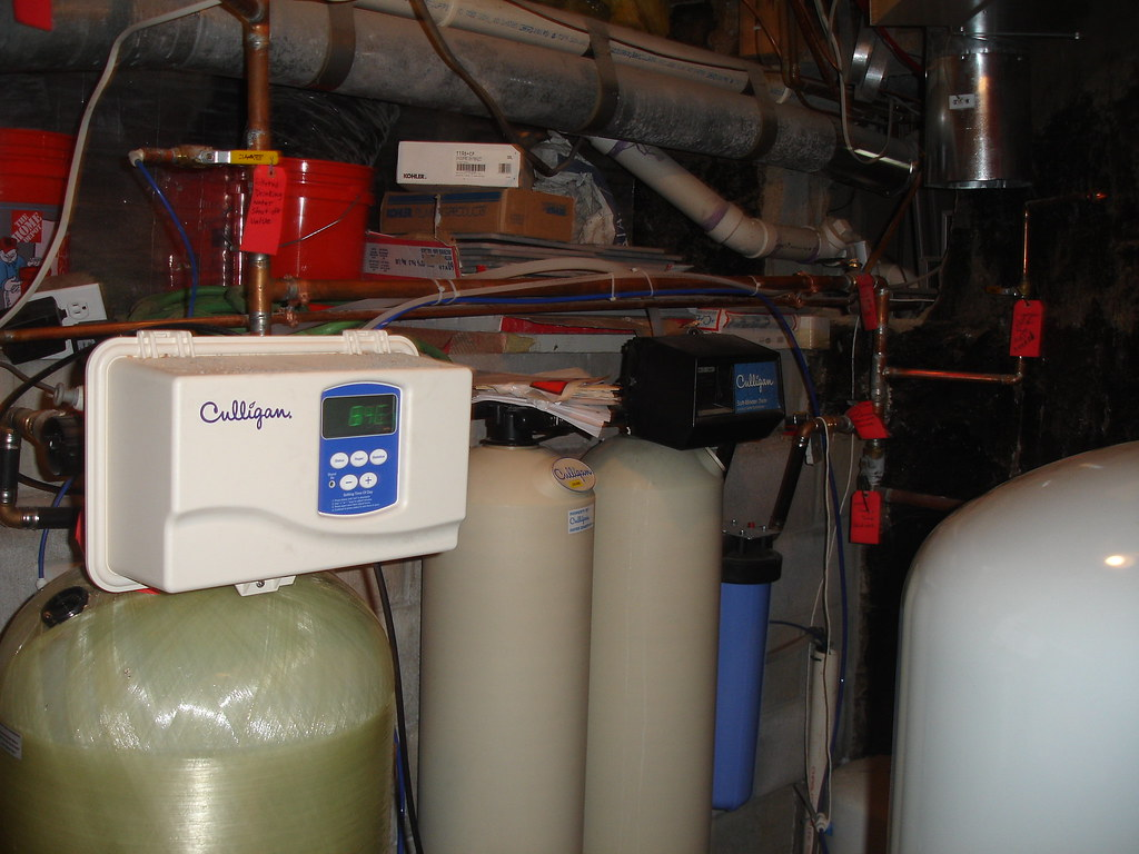 2-Culligan-water-iron filter-softener