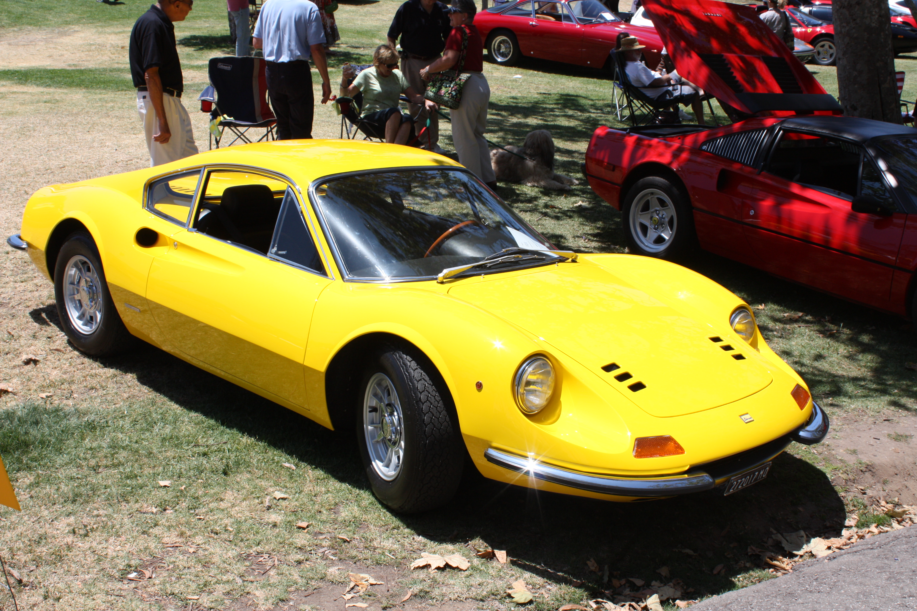 1968 Ferrari Dino 206 GT Boldride.com - Pictures, Wallpapers