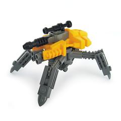 Hayaku v4 - Gunner Type (Fredoichi) Tags: robot lego space military walker micro mecha mech multiped microscale fredoichi