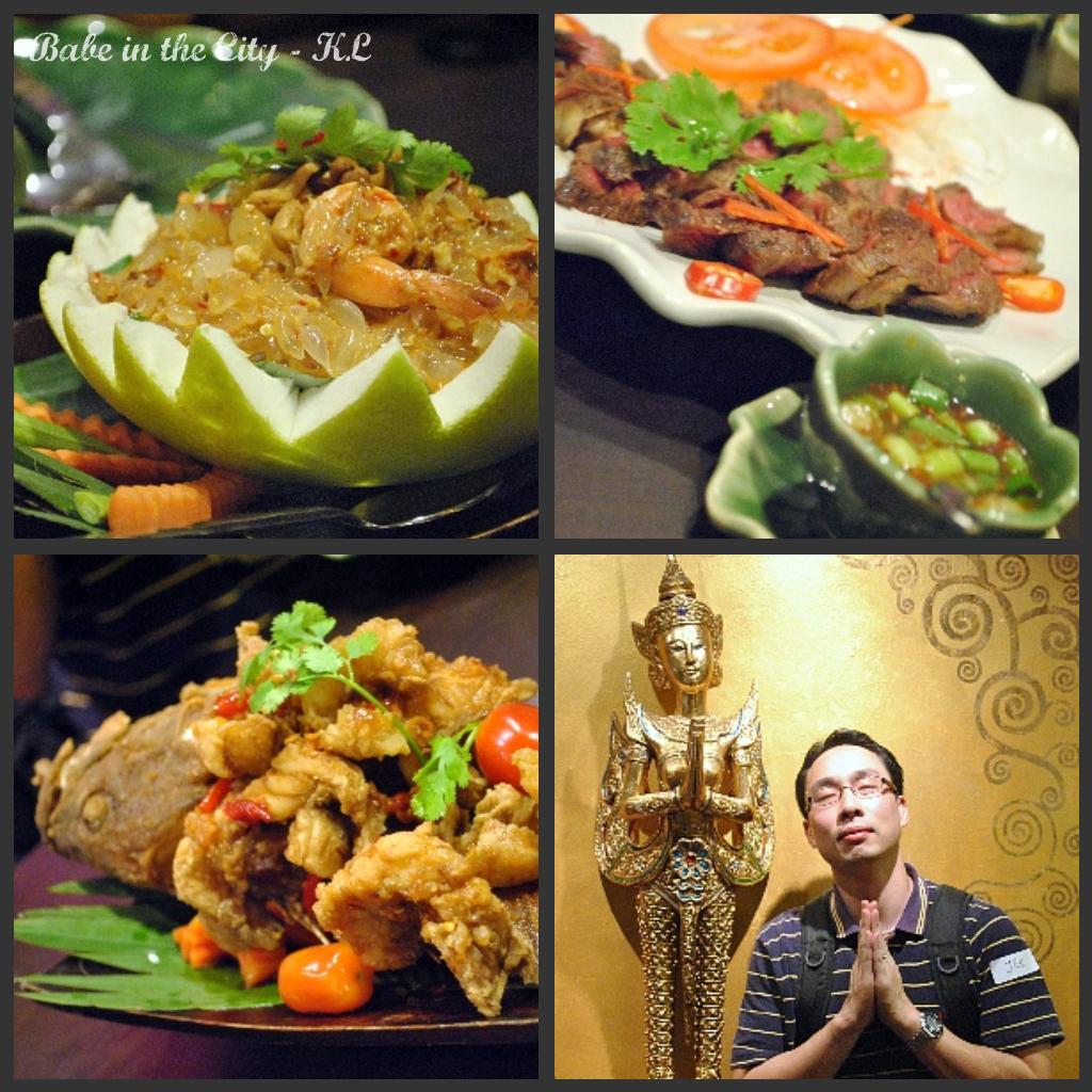 Kinnaree Thai Restaurant Menu Tumut