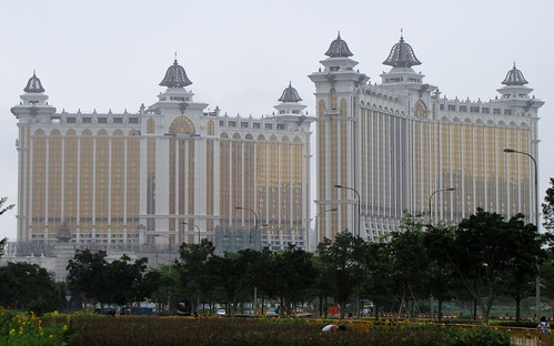 Cotai Mega Resort Under Construction