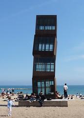 Barceloneta (nafea) Tags: barcelona art beach architecture spain playa barceloneta catalunya espagne plage barcelone catalogne