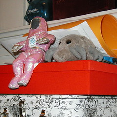 Dust Mite, Spenser, and the cheap plastic piggy bank