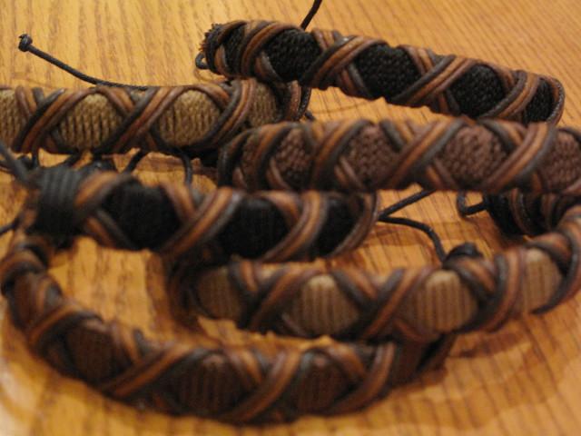 Fabric bracelets 03