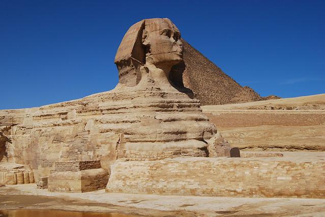 Gran Esfinge de Giza (El Cairo)