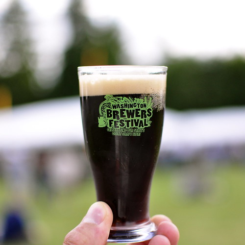 image of The Ram's Black Sheep Black IPA (from the Washington Brewers Festival 2010) courtesy of +Russ' Flickr page