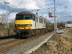 90047 Kingsthorpe 040309 (Dan86401) Tags: northamptonshire class fl 90 skoda gec kingsthorpe freightliner intermodal brel 90047 wilsonscrossing