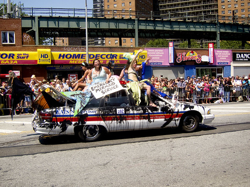 Mermaid Parade 2010, Coney Island