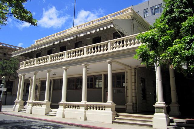 O'ahu - Honolulu - CBD: Kamehameha V Post Office