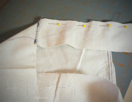 canvas satchel tutorial pinning sides