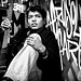 Cesar Alfredo Chavez - Rock Star Photo Shoot @ Aerosol Warfare - B&W