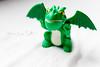 Mano verde (Rebe {happy-mami}) Tags: verde green toy dragon juguete dragón happymami