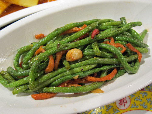 Stir Fried Long Beans with Pork